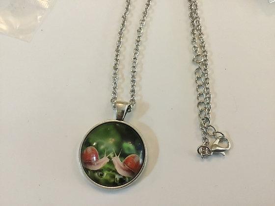 Snail necklace
