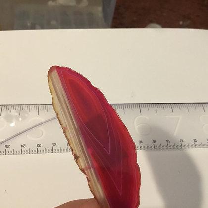 Agate Slice pink
