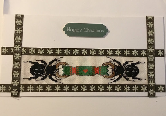 Beetle Christmas card