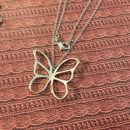 Butterfly necklace 2
