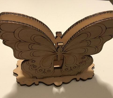 Butterfly letter rack