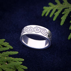 Petoskey pattern ring