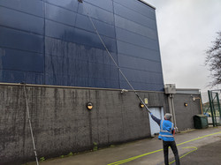 Cladding Cleaning - Southwark College
