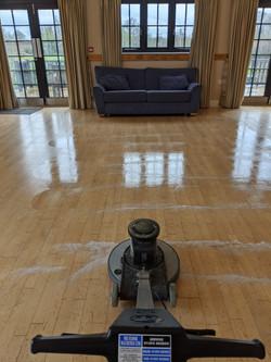 Floor Scrubbing & Polish - Ipswich