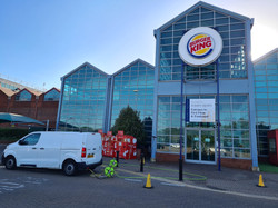 Window Cleaning - Burger King