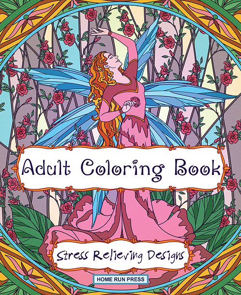 Adult Coloring Book Stress Relieving Designs: Coloring Book for Adults, Mandalas