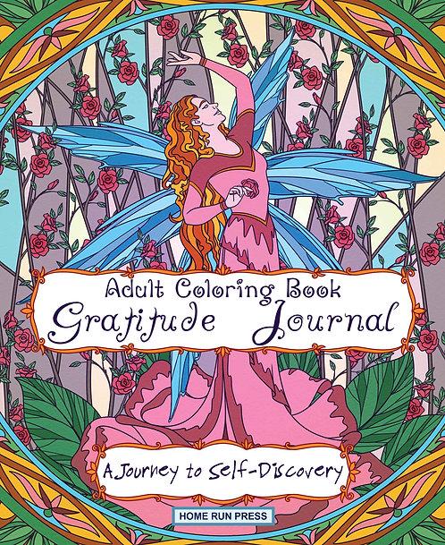 Adult Coloring Book Gratitude Journal: Journal for Women, Self Help Book