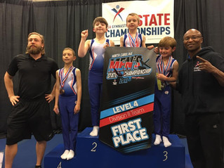 OSEGA's Boys Team Compete and Conquer NC State Championship