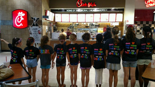 Chick-Fil-A Rises Up to Help OSEGA Fundraising