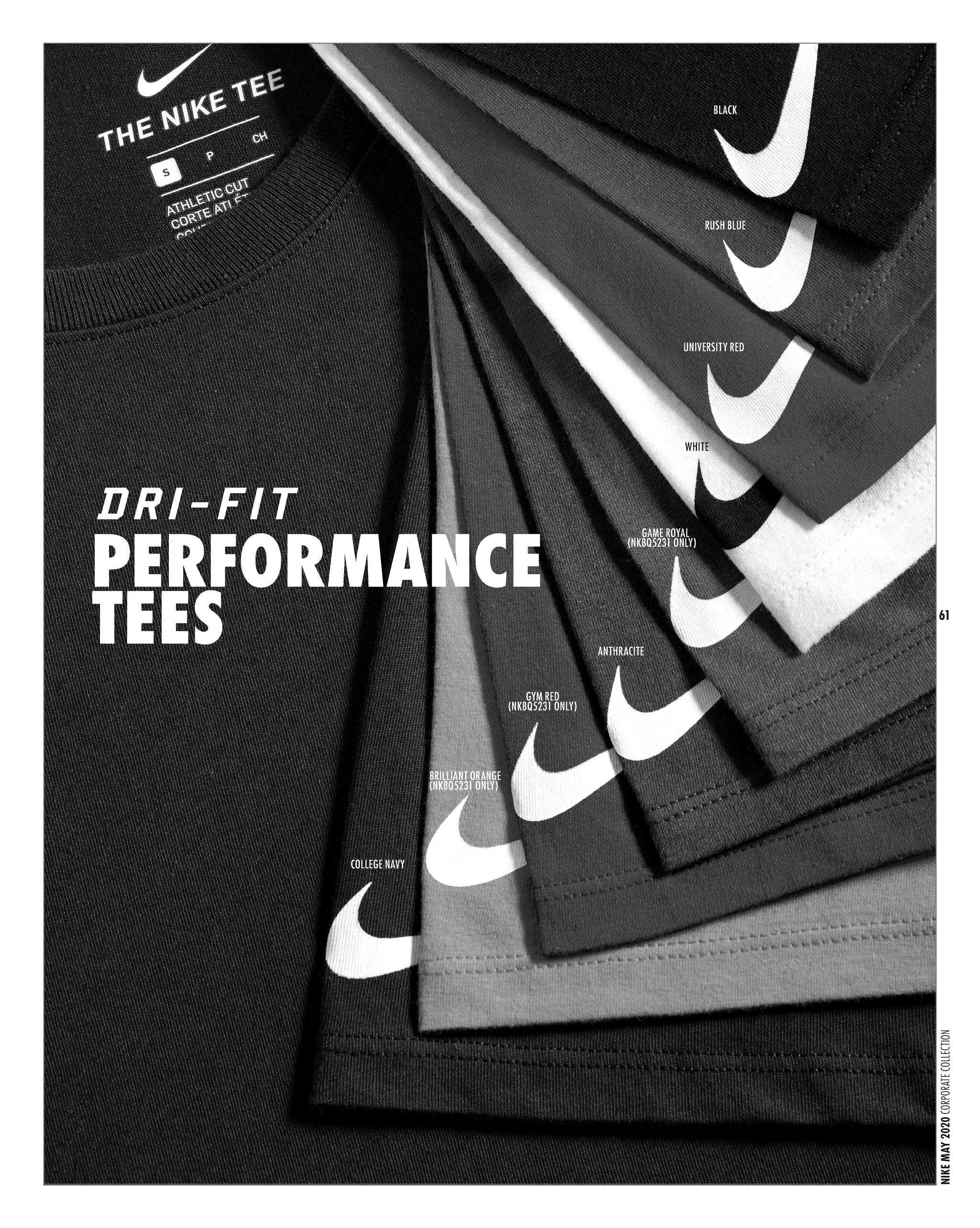 Nike DRI-FIT Performance Tees