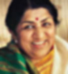 Bollywood playback singer Lata Mangeshkar