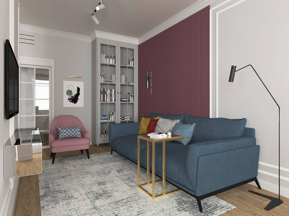Дизайн квартиры в г. Реутове