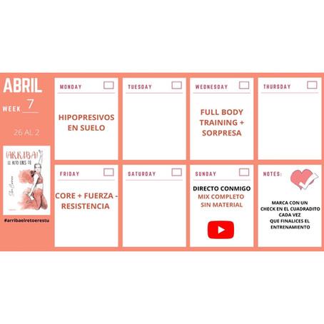 Semana 7 #ArribaElRetoEresTu