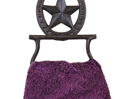 Cast Iron Rustic Towel Holder, Horseshoe
