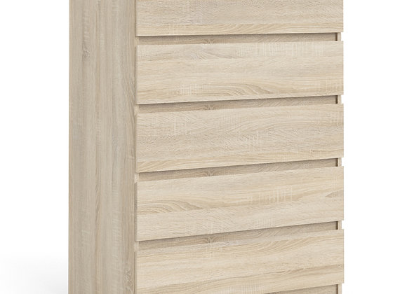 Naia Chest of 5 Drawers in Oak structure