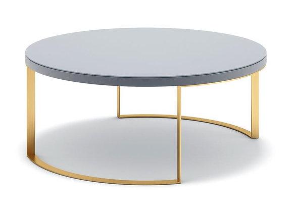 Lunato Coffee Table - Grey Lacquer