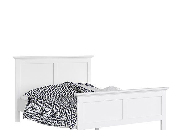 King Bed (160 x 200) in White