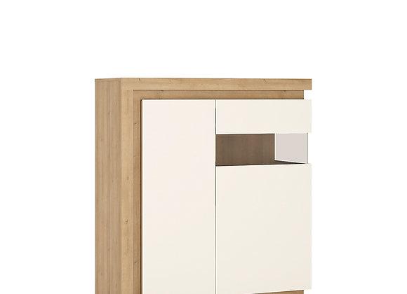 2 door designer cabinet (RH) (including LED lighting)