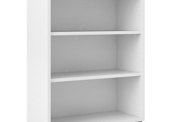 Bookcase 2 Shelves in White