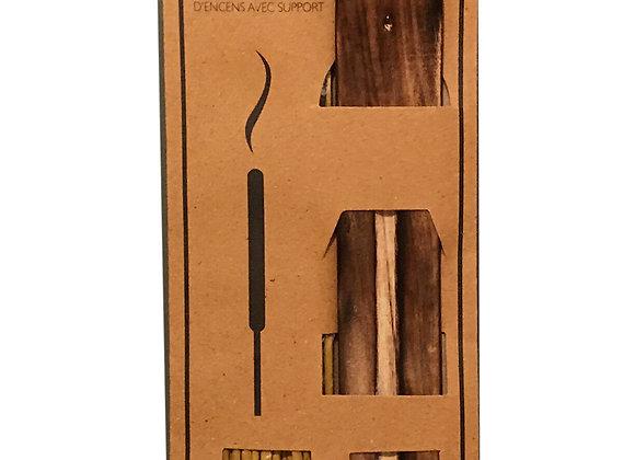 20 Fragranced Incense Sticks With Holder - Sandalwood