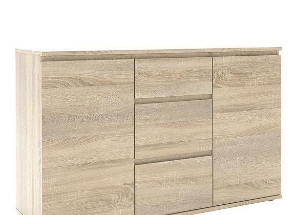 Sideboard - 3 Drawers 2 Doors in Oak