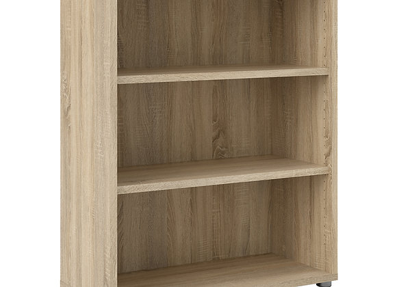 Bookcase 2 Shelves in Oak
