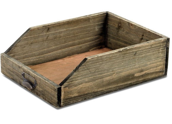 Wooden Paper Tray 25 x 34 x 10 cm