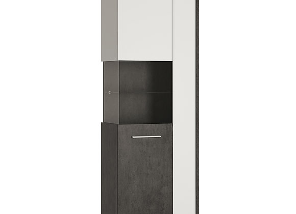 Tall display cabinet (LH)