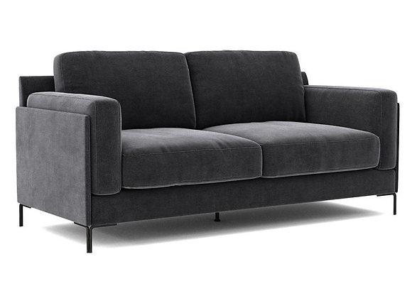 Aubyn 2-Seater Sofa - Dark Grey