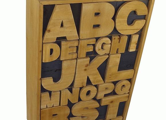 Alphabet Cabinet 54 x 26 x 89cm