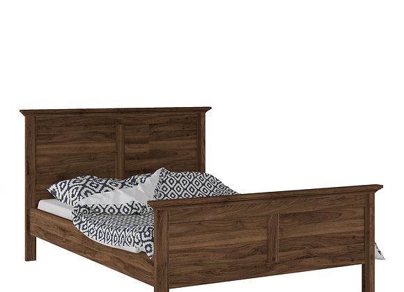 Double Bed (140 x 200) in Walnut