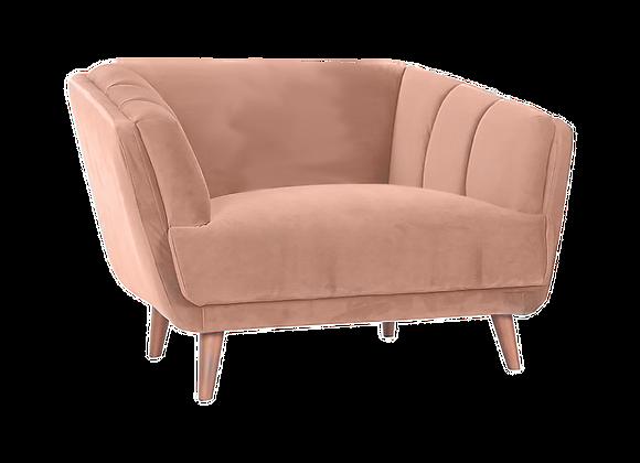 Pearl Loveseat - Pink