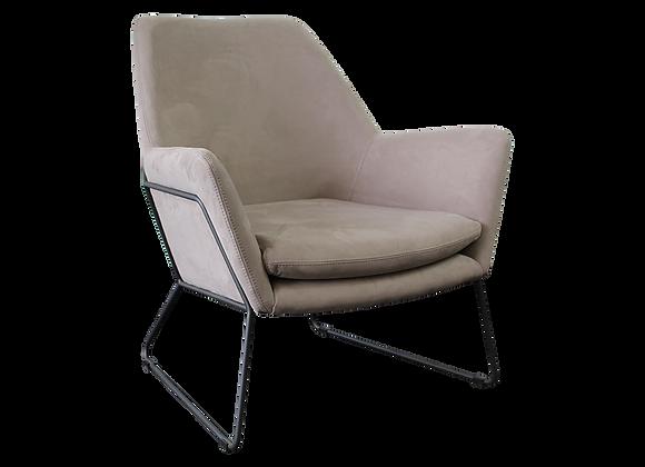 Delilah Armchair - Grey Velvet