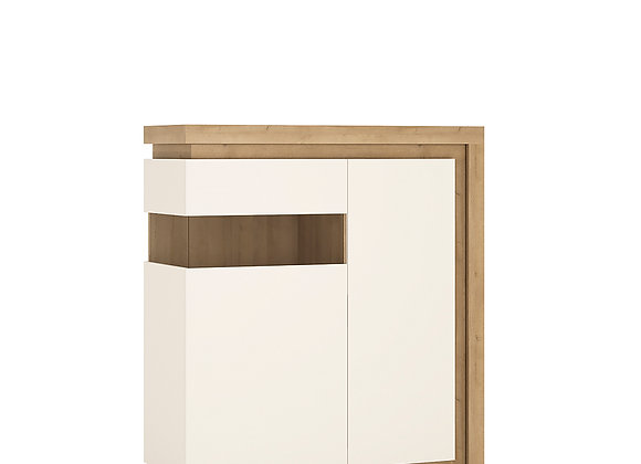 2 door designer cabinet (LH) (including LED lighting)