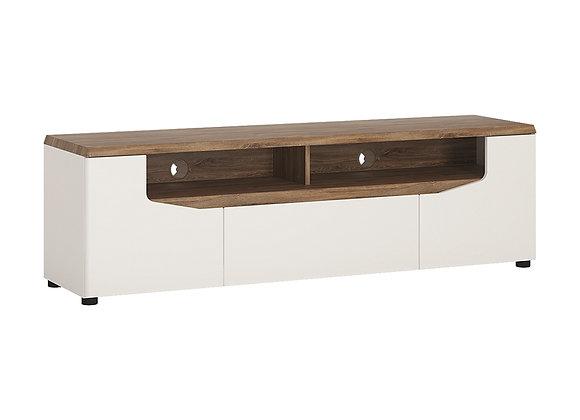 2 door 1 drawer wide TV unit