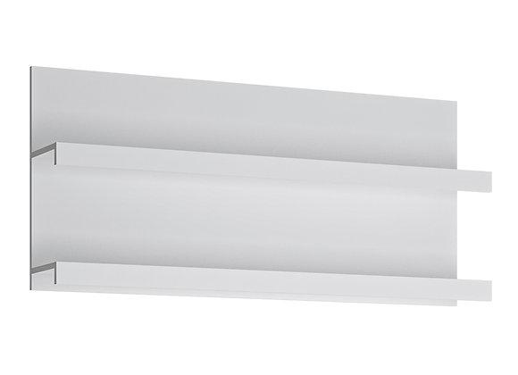 Fribo 136 cm wide wall shelf in White