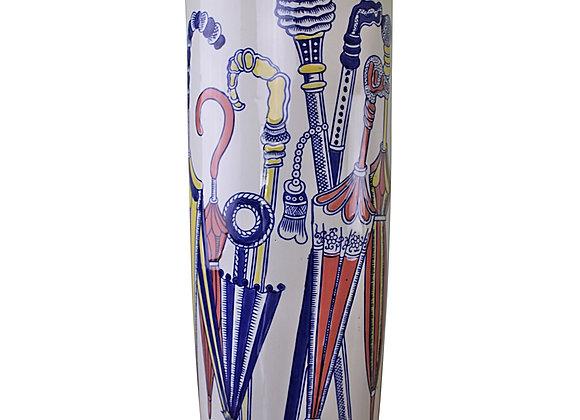 Umbrella Stand, Pastel Coloured Umbrellas Design