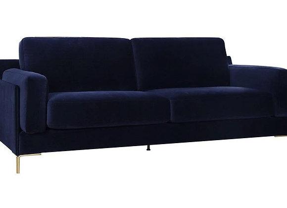 Aubyn 3-Seater Sofa - Dark Blue