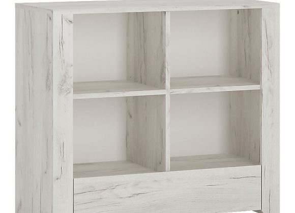 1 Drawer Low Bookcase