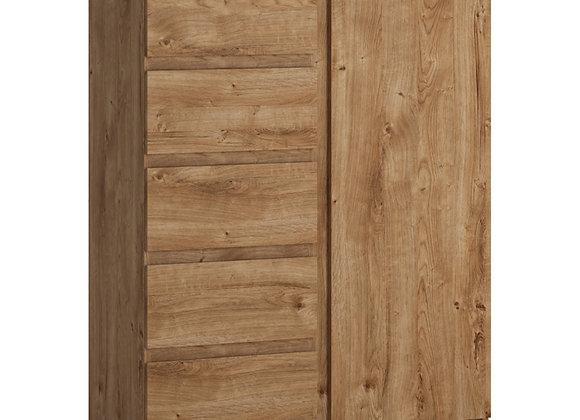Fribo 1 door 5 drawer cabinet in Oak