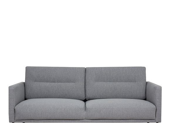 Larvik 2.5 Seater Sofa - Grey, Black Legs