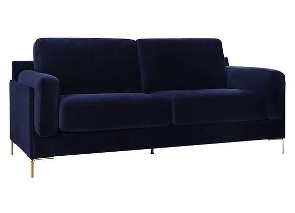 Aubyn 2-Seater Sofa - Dark Blue