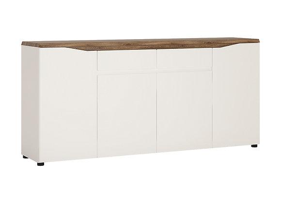 4 door 2 drawer sideboard