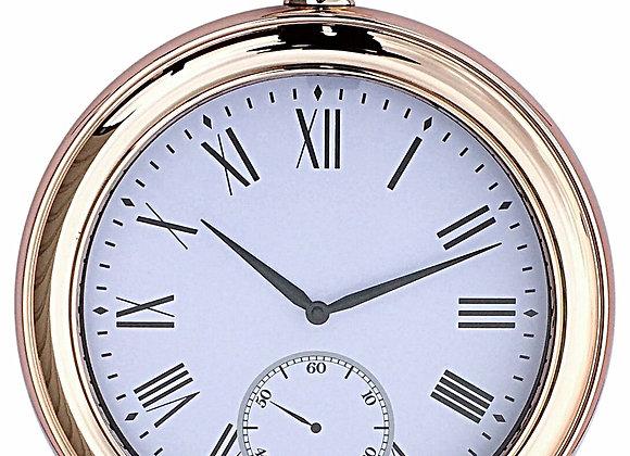 Round Gold Wall Clock 43cm
