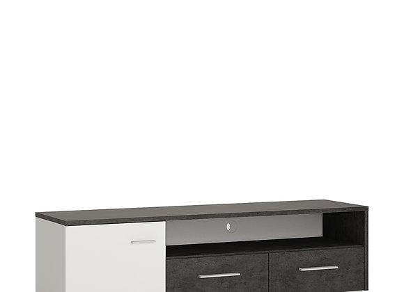 1 door 2 drawer wide TV cabinet