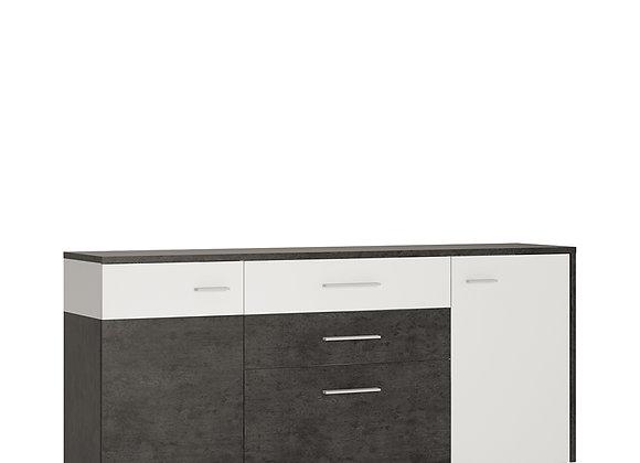 2 door 2 drawer 1 compartment sideboard