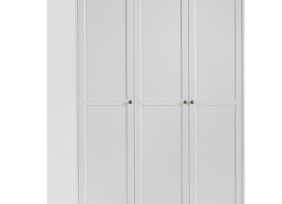 Wardrobe with 3 Doors in White