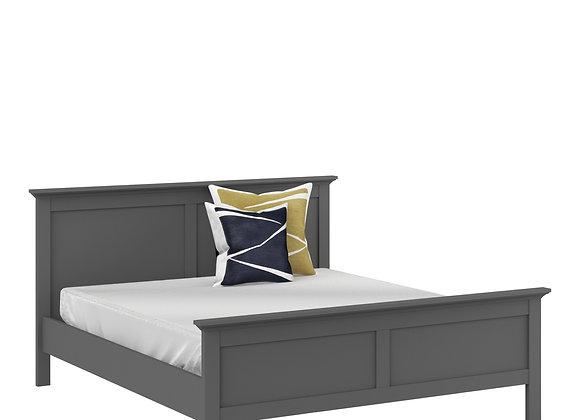 Super King Bed (180 x 200) in Matt Grey
