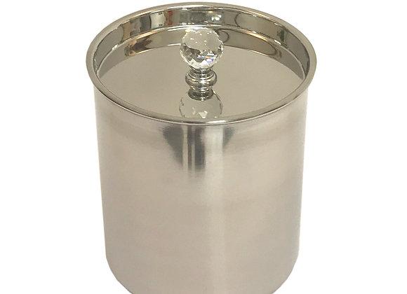 Ice Bucket With Crystal Handle