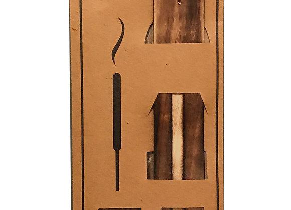 20 Fragranced Incense Sticks With Holder - Patchouli